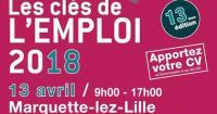 FORUM : Les clés de l'emploi - 13/04/2018 Marquette-lez-Lille