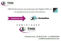 TMK Performances est partenaire de l'Agefos PME sur le programme Accès Formation