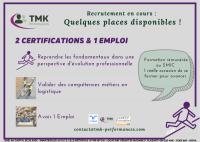 CléA et TMK Performances, un projet pour l'évolution professionnelle !..