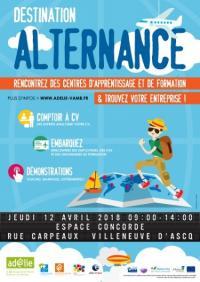 FORUM : Destination Alternance - 12/04/2018 - Villeneuve d'Ascq
